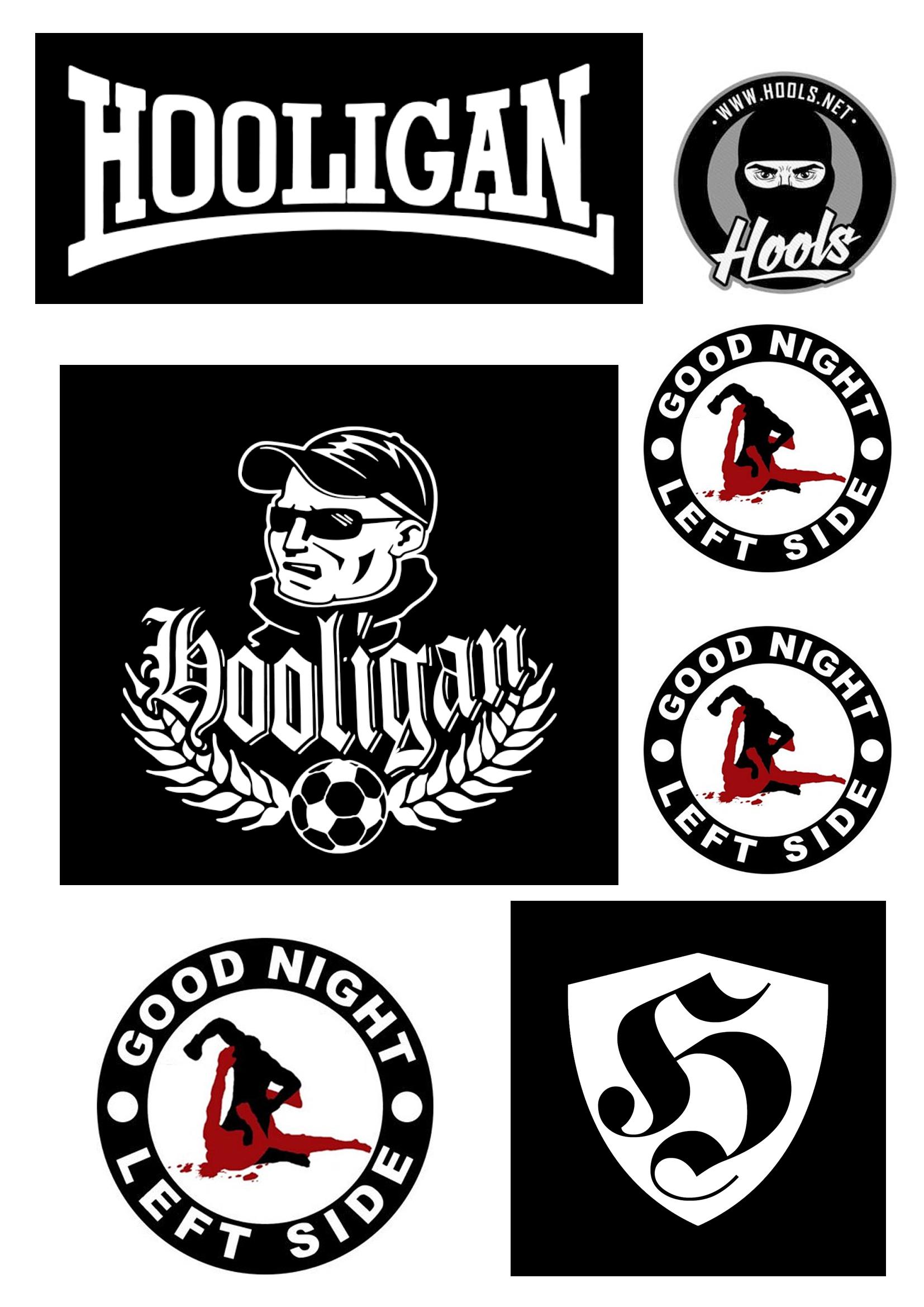 cd76f7bd6796 Hooligans nažehlovačky arch A4