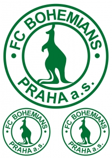 170484ce44a8 Bohemians logo nažehlovačka
